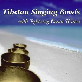 Tibetan Singing Bowls with Ocean Waves Nature Sounds