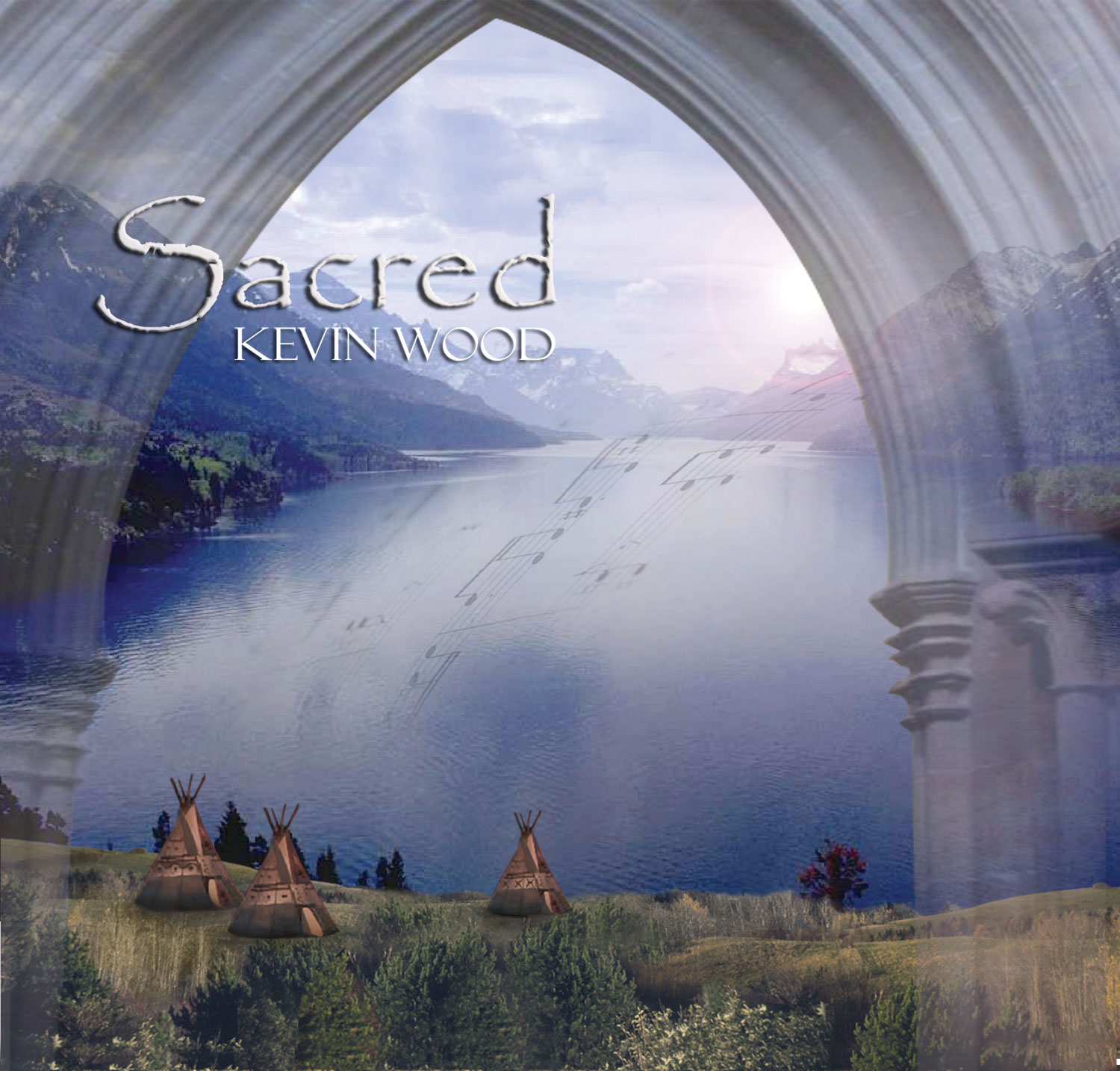 Sacred cover New Age music CD